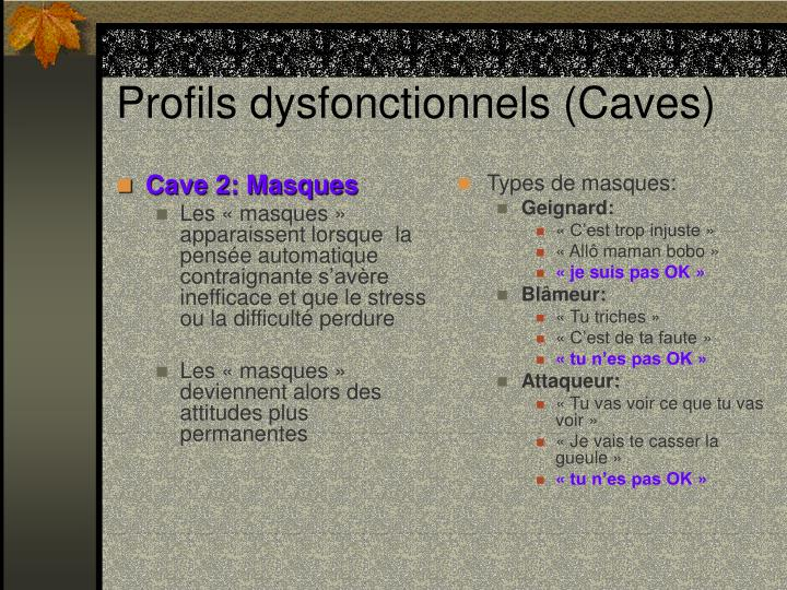 Cave 2: Masques