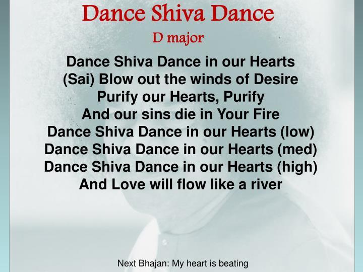 Dance Shiva Dance