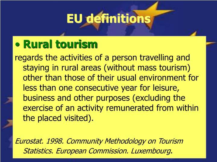 EU definitions