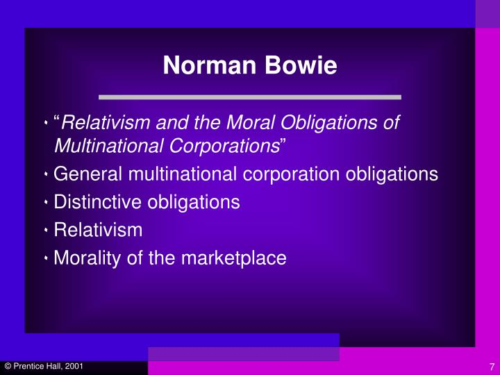 Norman Bowie