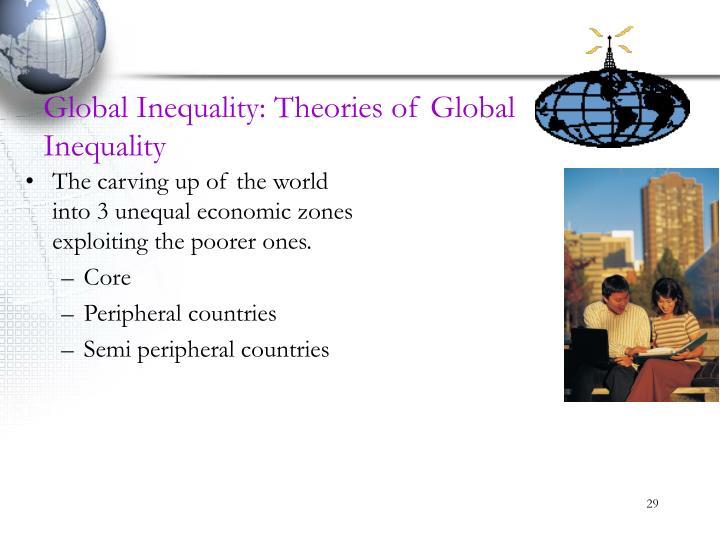 Global Inequality: Theories of Global Inequality
