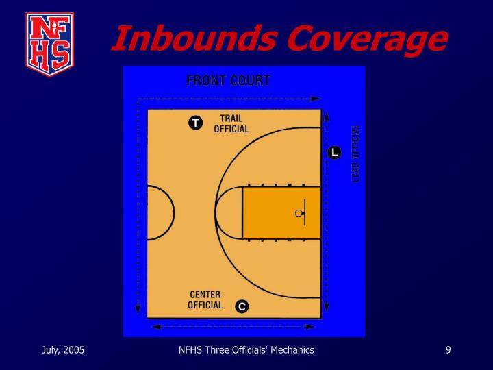 Inbounds Coverage