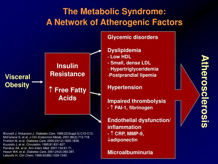 The Metabolic Syndrome: