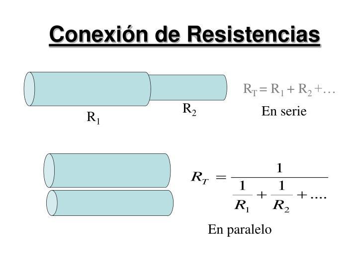 Conexión de Resistencias