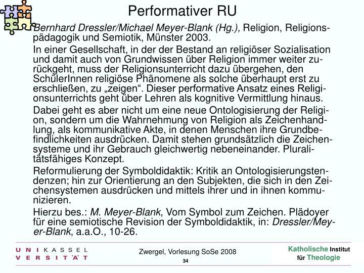 Performativer RU