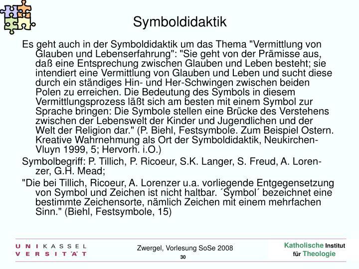 Symboldidaktik