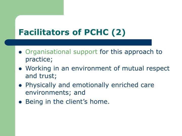 Facilitators of PCHC (2)