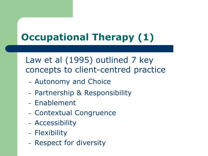 Occupational Therapy (1)