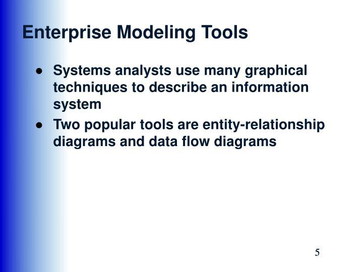 Enterprise Modeling Tools