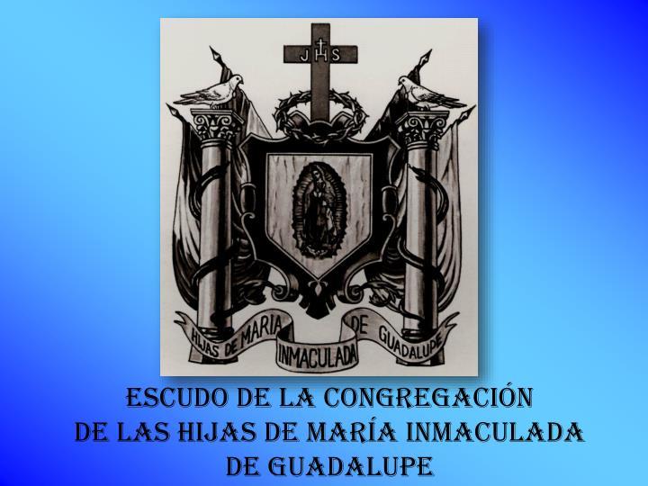 ESCUDO DE LA CONGREGACIÓN