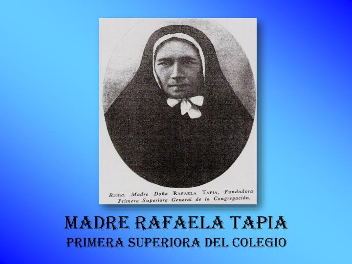 Madre Rafaela Tapia