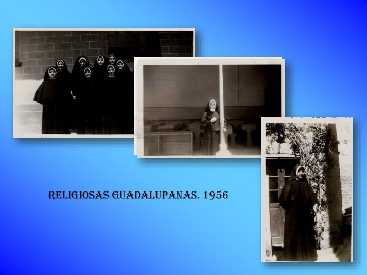 Religiosas guadalupanas. 1956