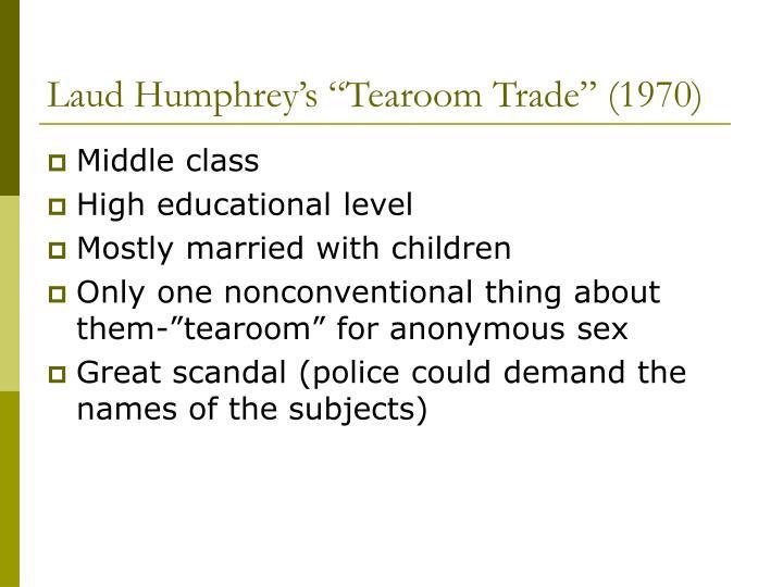 """Laud Humphrey's """"Tearoom Trade"""" (1970)"""