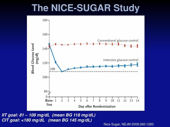 The NICE-SUGAR Study