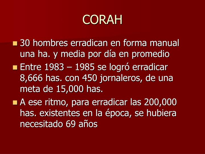 CORAH
