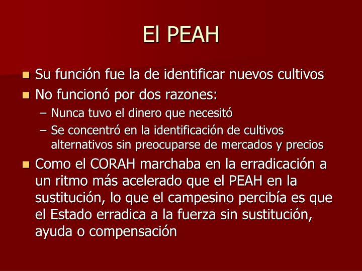 El PEAH