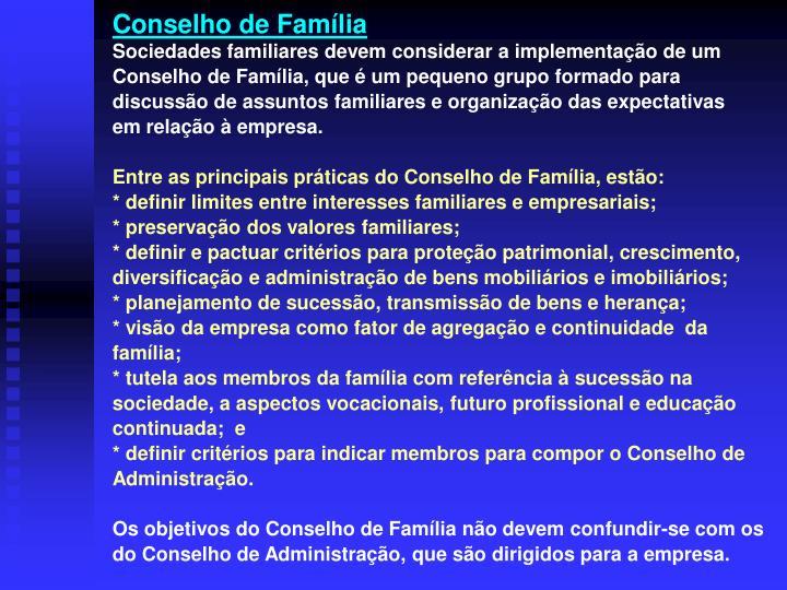 Conselho de Família