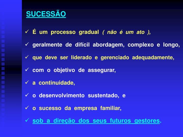 SUCESSÃO