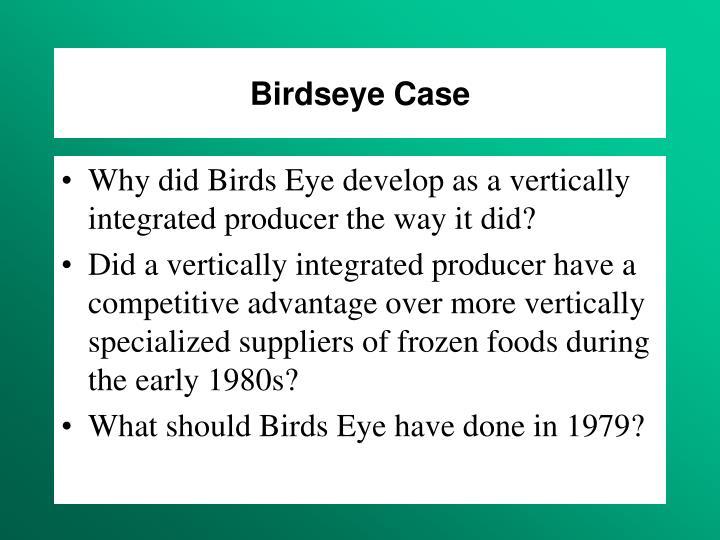 Birdseye Case