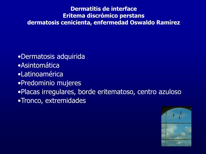 Dermatitis de interface