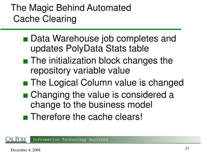 The Magic Behind Automated