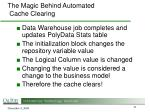 the magic behind automated cache clearing