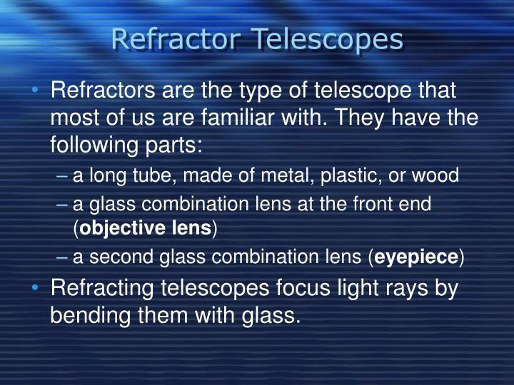 Refractor Telescopes