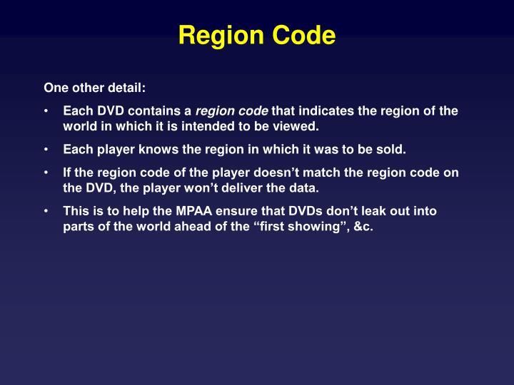 Region Code
