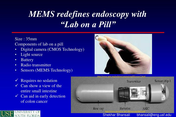 MEMS redefines endoscopy with