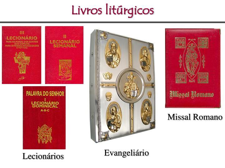 Livros litúrgicos