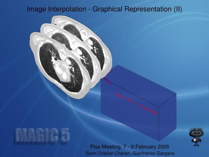 Image Interpolation - Graphical Representation (II)