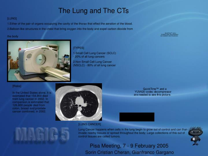 The Lung and The CTs