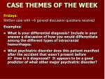 case themes of the week1