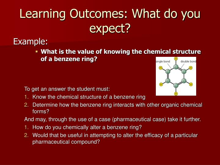 Learning Outcomes: What do you expect?