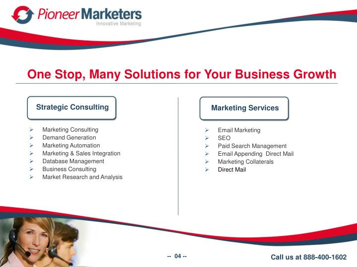 One Stop, Many Solutions for Your Business Growth