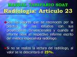 manual tarifario soat radiolog a art culo 23