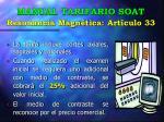 manual tarifario soat resonancia magn tica art culo 33