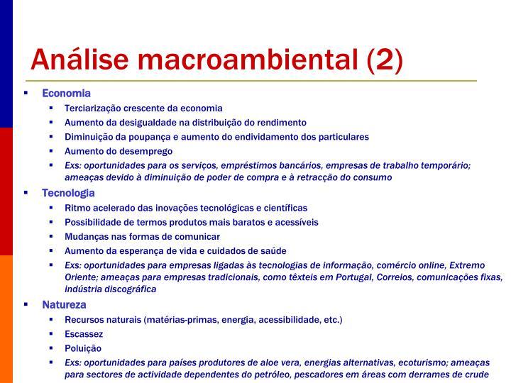 Análise macroambiental (2)