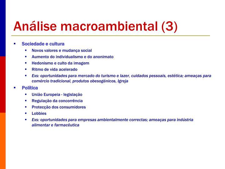 Análise macroambiental (3)