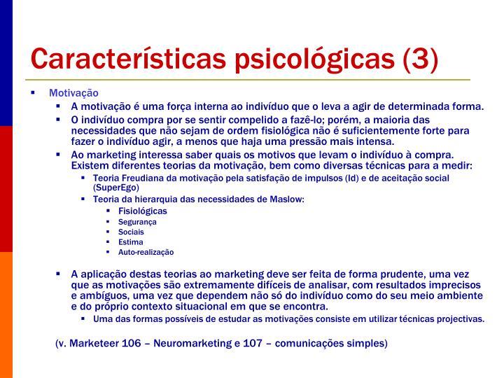 Características psicológicas (3)