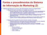 fontes e procedimentos do sistema de informa o de marketing 2