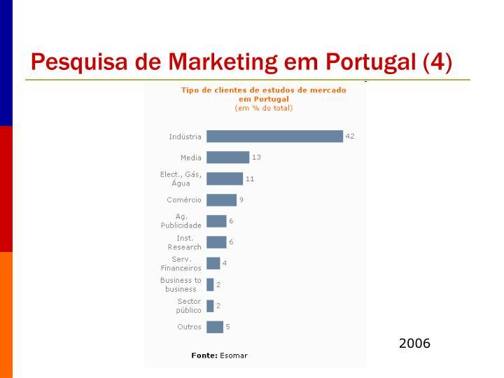 Pesquisa de Marketing em Portugal (4)