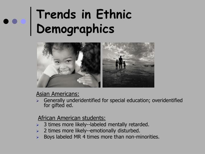 Trends in Ethnic Demographics