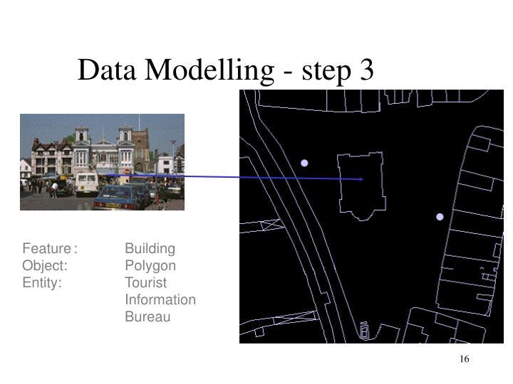 Data Modelling - step 3