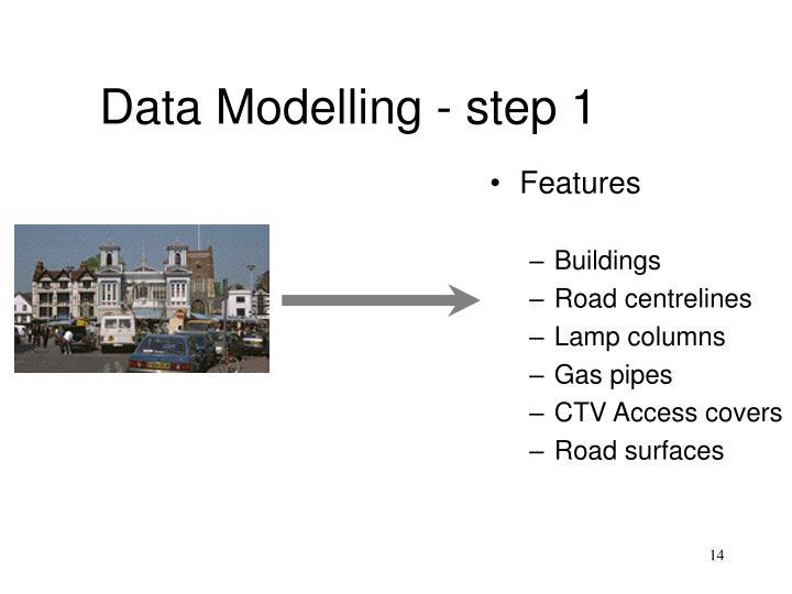 Data Modelling - step 1