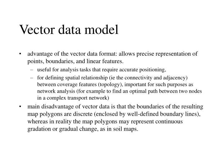 Vector data model