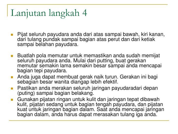 Lanjutan langkah 4