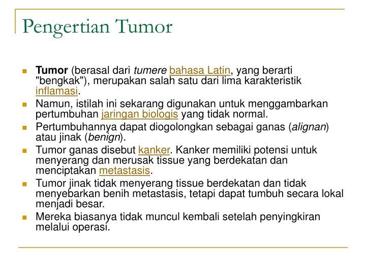 Pengertian Tumor