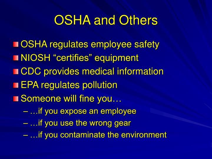 OSHA and Others