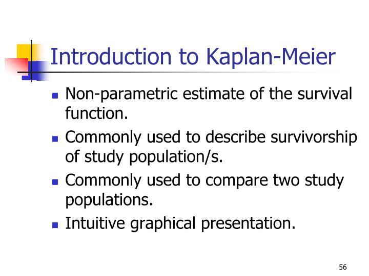 Introduction to Kaplan-Meier